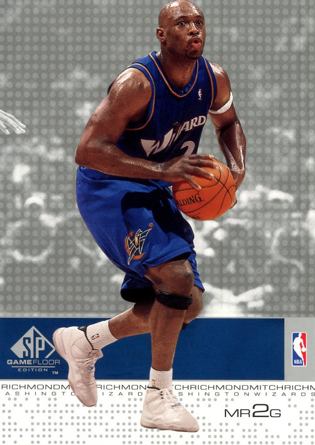 Mitch Richmond in Air Jordan 11