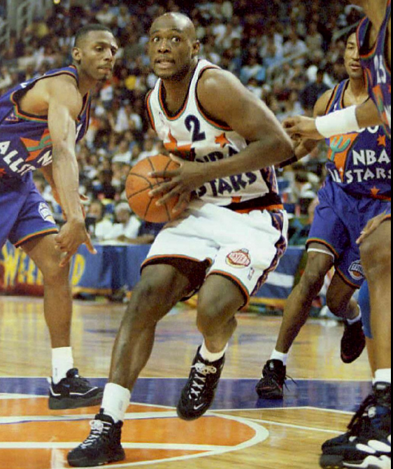 Mitch Richmond in Nike Air Go LWP