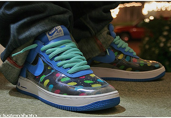 """Nike Air Force 1 Low """"Invisible Woman"""" Photo via Quickster"""