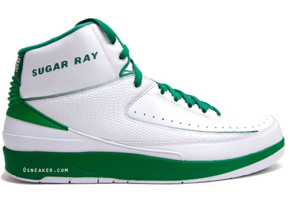 Ray Allen Jordan PEs: Air Jordan 2 Boston Celtics Home Player Exclusive