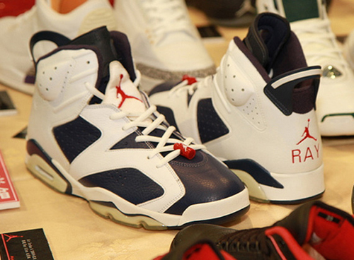 Ray Allen Jordan PEs: Air Jordan 6 Olympic Player Exclusive
