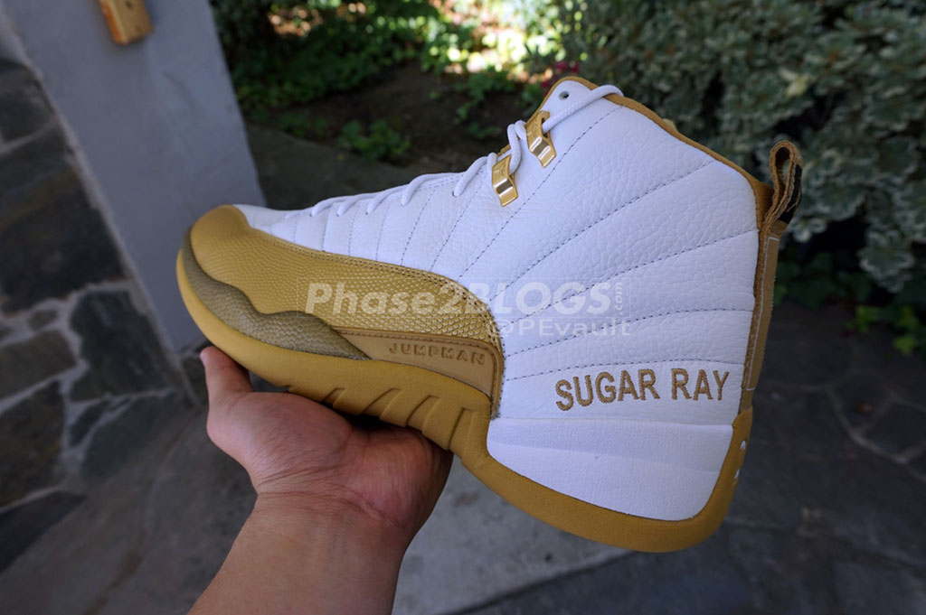Ray Allen Jordan PEs: Air Jordan 12 MLK Day Home Player Exclusive