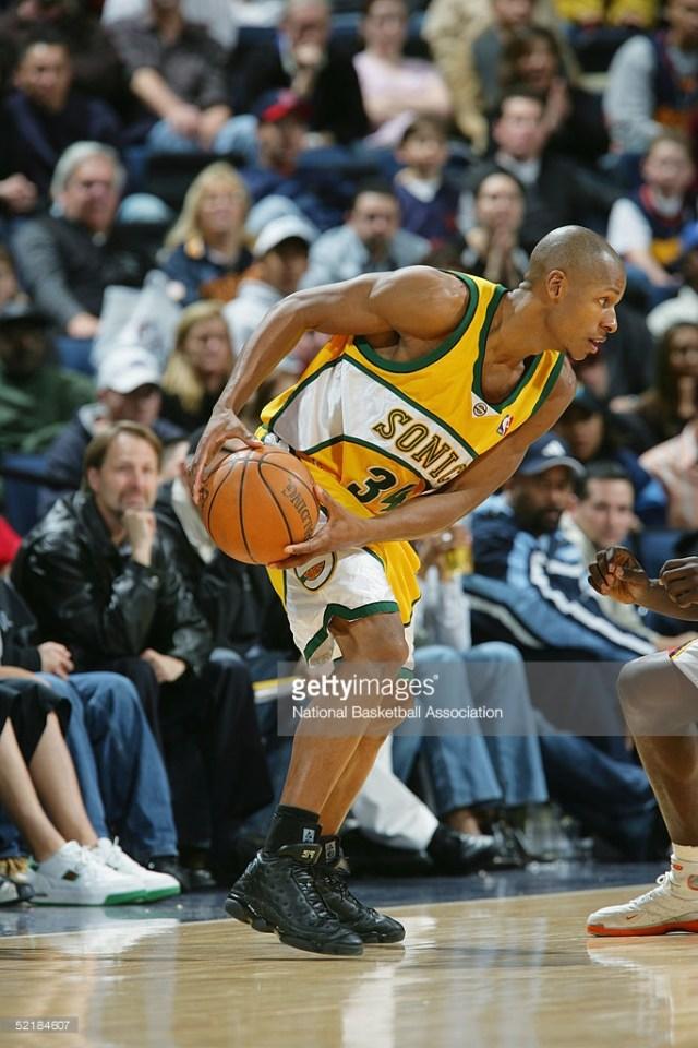 Ray Allen Jordan PEs: Air Jordan 13 Player Exclusive