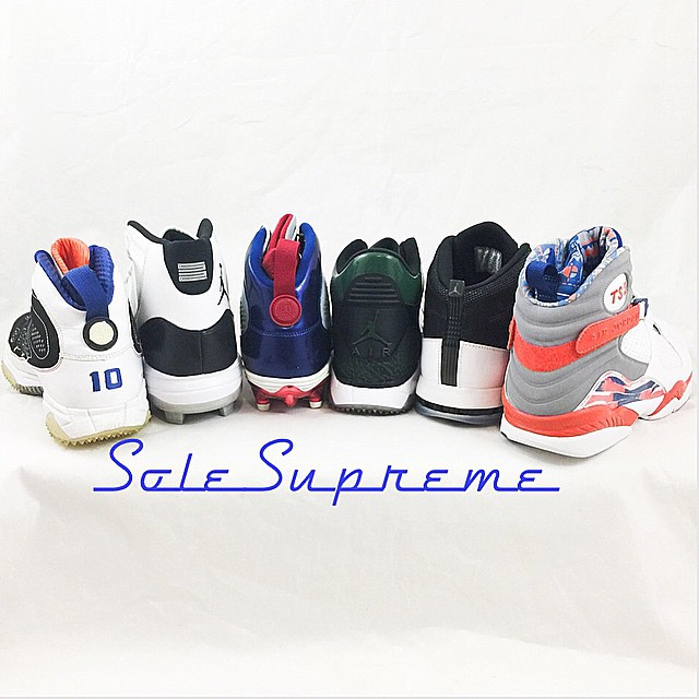 Jordan MLB and NFL Player Exclusives by @solesupreme23