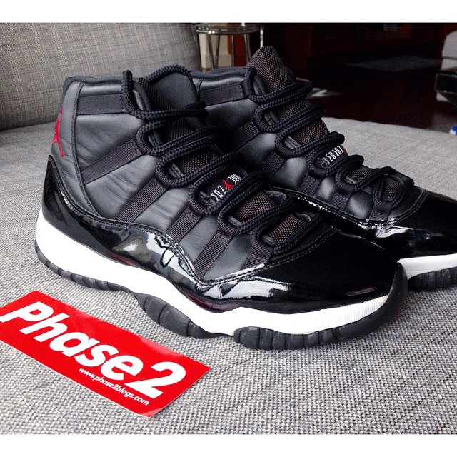 Jordan 11 Leather Sample from @phase2