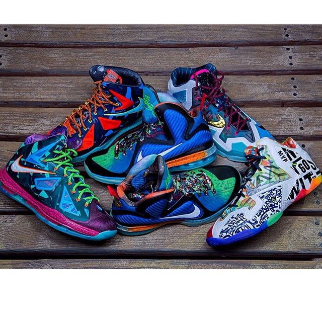 "Nike LeBron ""What The"" Collection by @croatianstyle"