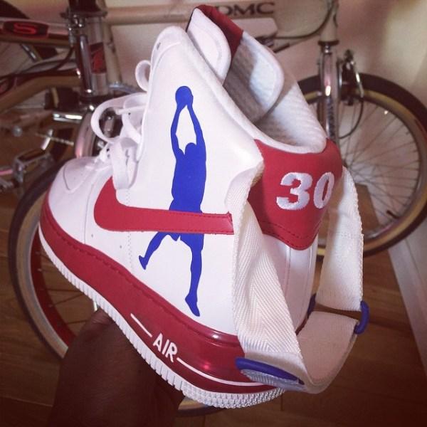 Nike Air Force 1 Rasheed Wallace PE by @bmxmanx