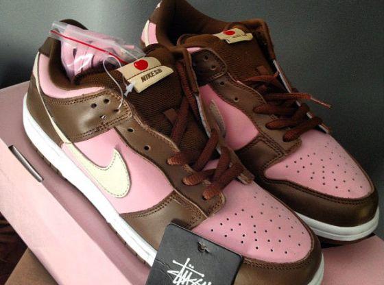 "Stussy x Nike SB Dunk Low ""Neapolitan"""
