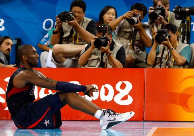 Nike Hyperdunk 2008 - Olympic Kobe PE - Image via Streeter Lecka
