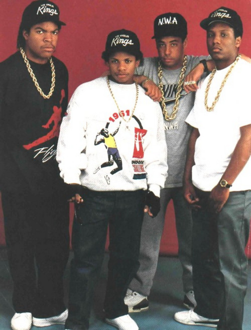 Straight Outta Compton: NWA's Sneaker Legacy - Yella Wearing the Nike Air Jordan 3