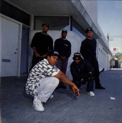 Straight Outta Compton: NWA's Sneaker Legacy - Ice Cube Wearing the Nike Air Force STS