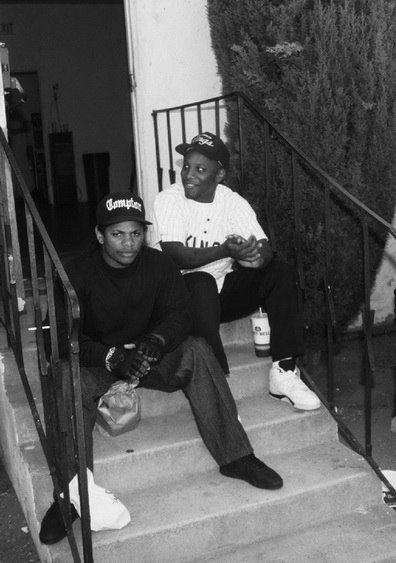 Straight Outta Compton: NWA's Sneaker Legacy - MC Ren Wearing Nike Air Trainer