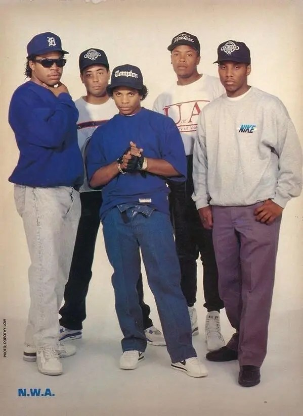 Straight Outta Compton: NWA's Sneaker Legacy - Yella Wearing Nike Air Jordan 4 Military Blue