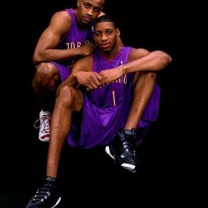 Tracy McGrady wearing the adidas Lithicon