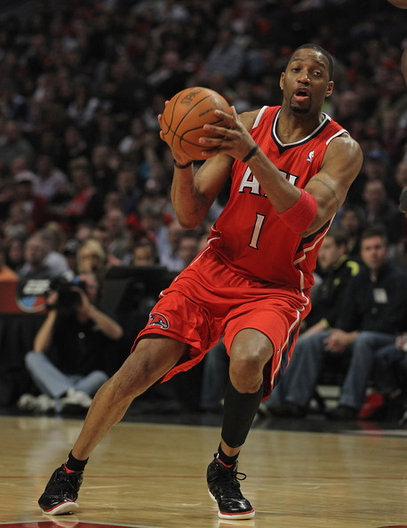 Tracy McGrady wearing the adidas adizero Ghost