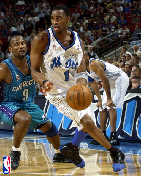Tracy McGrady in the T-Mac 1 in 2002