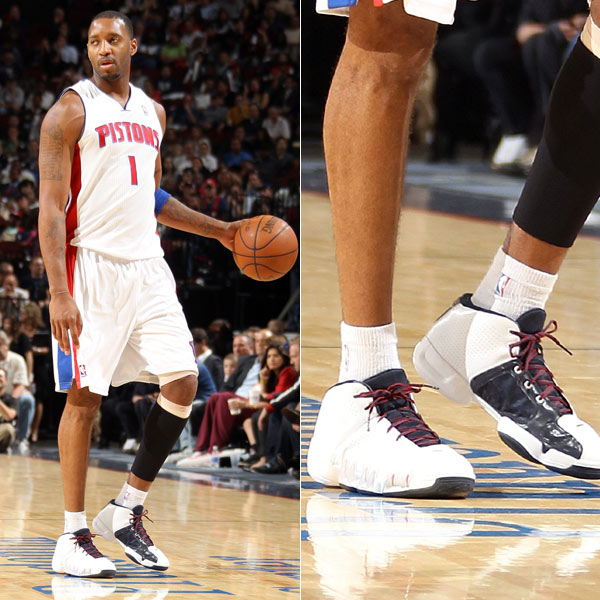 Tracy McGrady wearing the adidas TS Speedcut in 2010