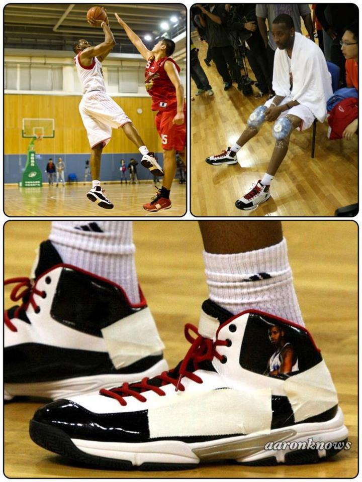 Tracy McGrady's Wang Hai Double Star Sneakers