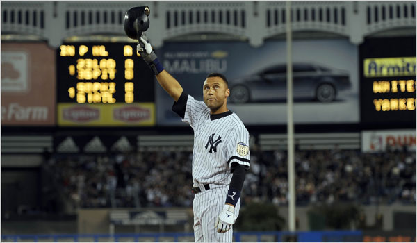 Derek Jeter September 16th, 2008
