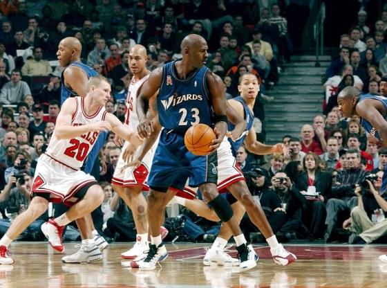 Michael Jordan in Air Jordan XVII