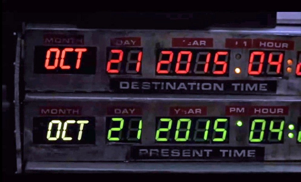 Back to the Future 2 Date