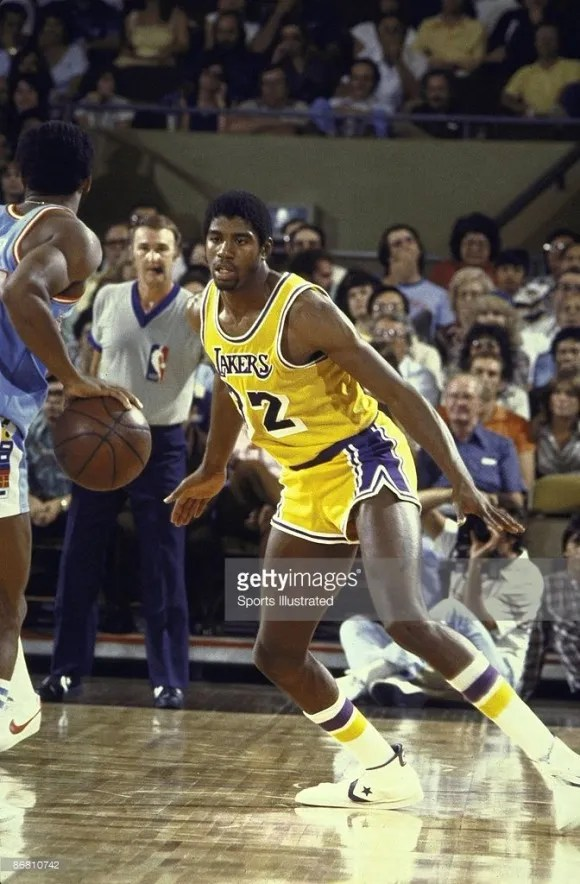 magic johnson debut