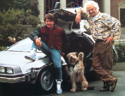Marty McFly in Nike Mag