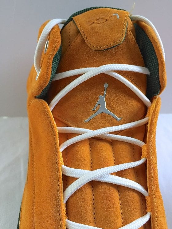 Ray Allen's Jordan XX1 Yellow Suede PE Seattle Supersonics