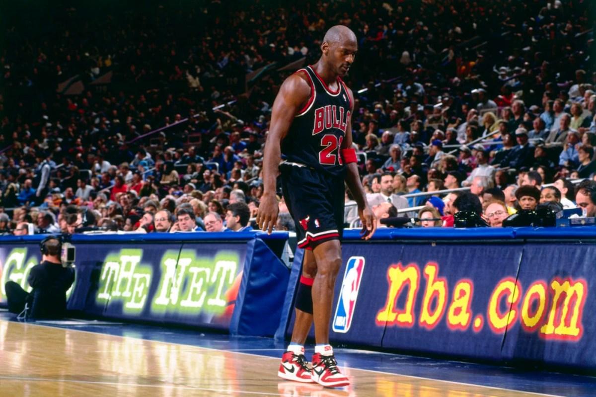 Michael Jordan at Madison Square Garden 1998