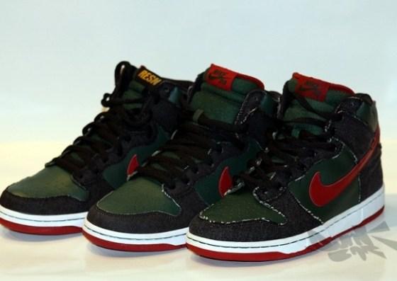 RESN x Nike SB Dunk High Samples
