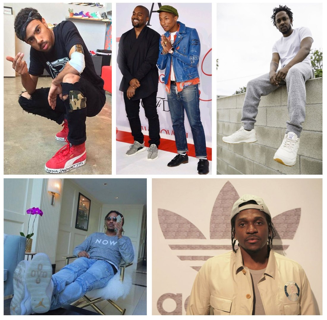 The Best Sneaker References in Hip Hop in 2015