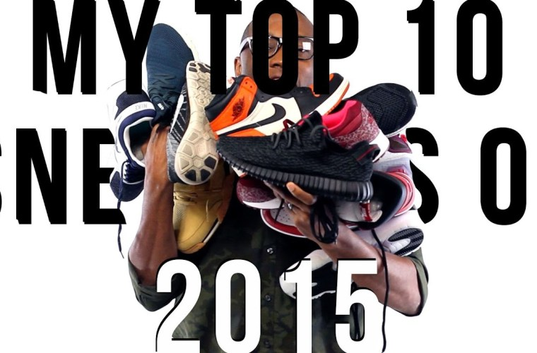 Kustoo - Top 10 Sneakers of 2015