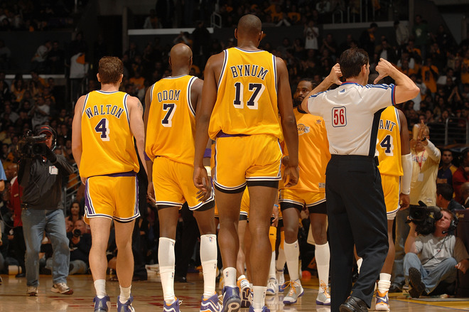 Los Angeles Lakers Short Shorts
