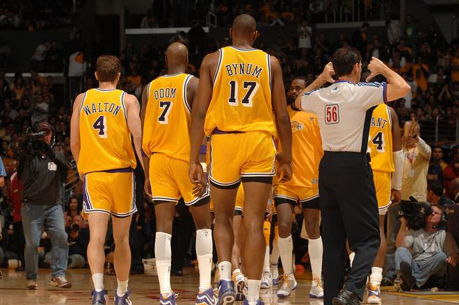 Los Angeles Lakers Short Shorts
