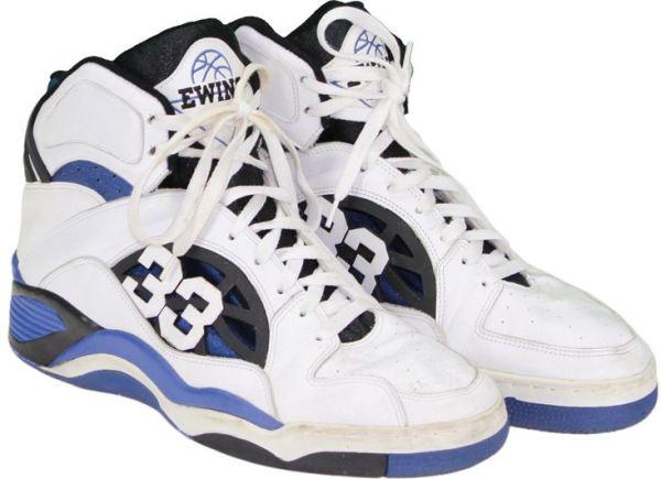 Patrick Ewing Game-Worn Ewing Domain Hi