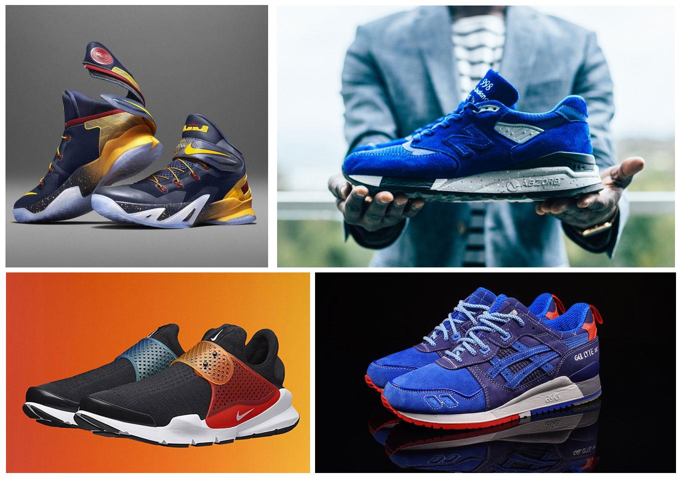 Travis Peterson Top Sneakers 2015