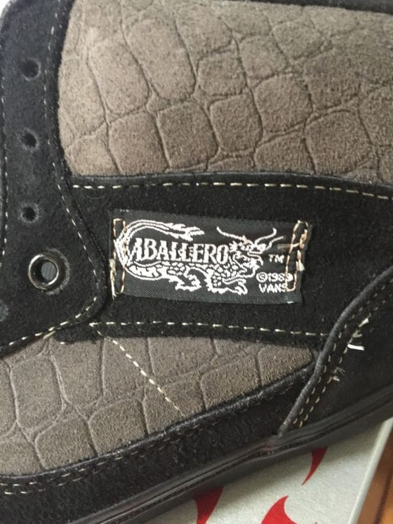 Original Vans Caballero High Top