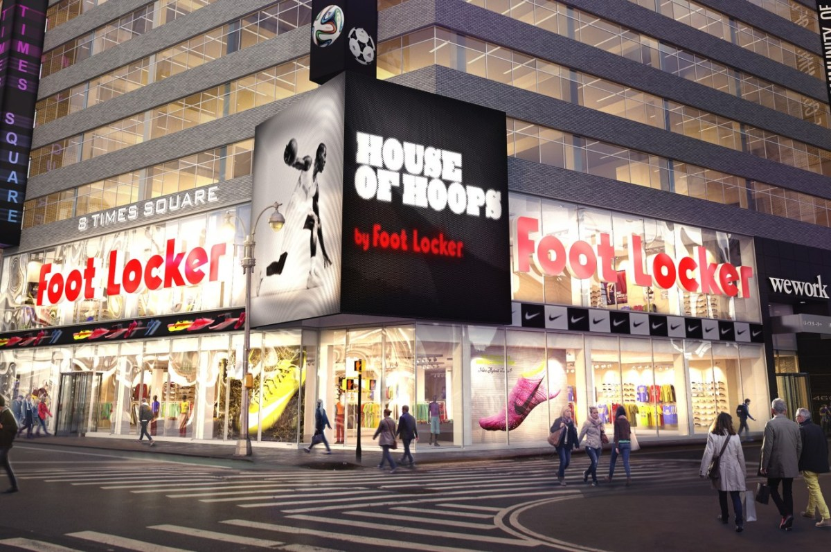 Foot Locker Times Square Mega Store
