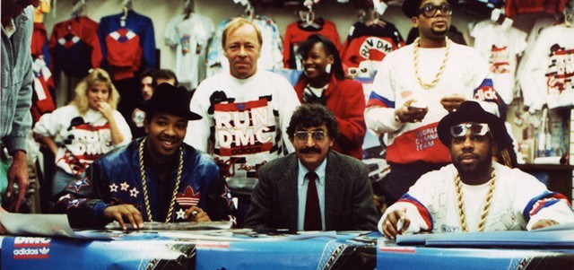 Run DMC visits Harput's Sneaker Store San Francisco