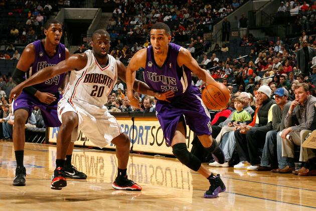 Kevin Martin in Air Jordan 12 P.E.
