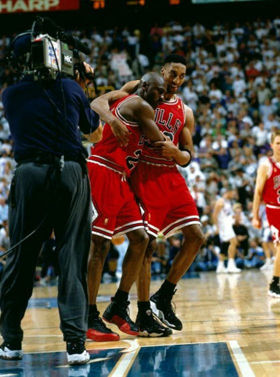 Michael Jordan's Flu Game