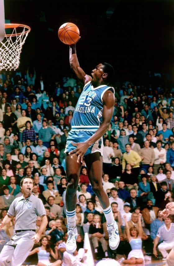 ceb1d732624 Michael Jordan UNC Tarheels Converse