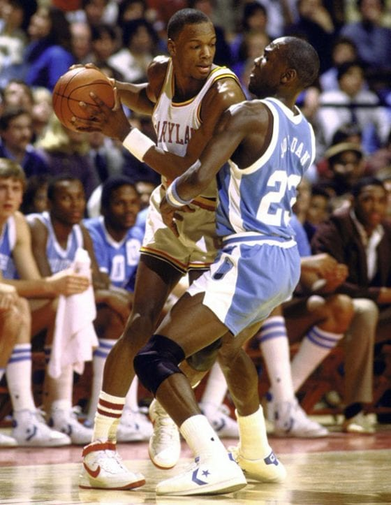 Michael Jordan against Len Bias