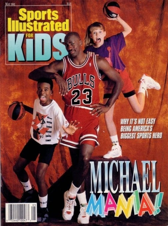 Michael Mania Sports Illustrated For Kids Cover