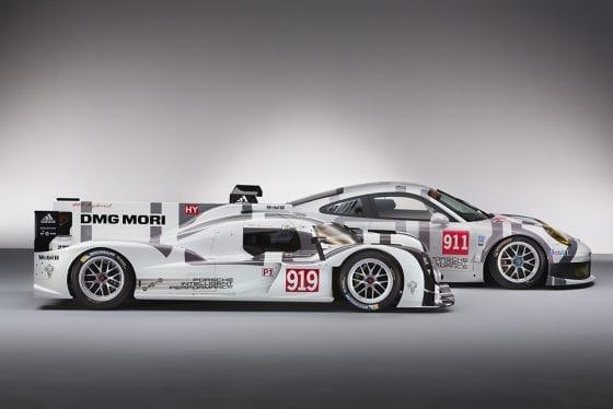 Porsche Factory Racing - adidas Sponsorship on the Spoiler
