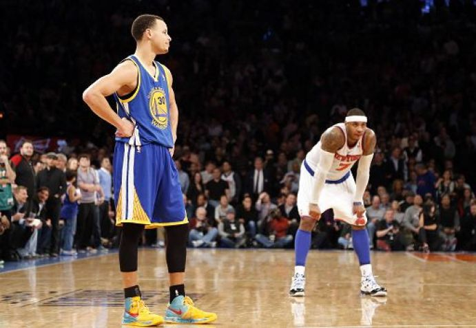 Steph Curry in Nike Hyperfuse 2012 P.E.