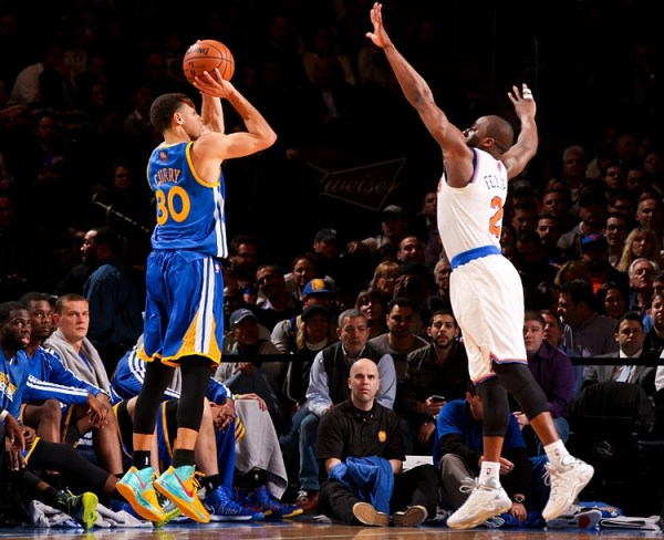 Steph Curry Jumper in Nike Hyperfuse 2012 P.E.