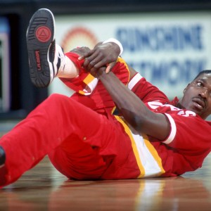 Hakeem Olajuwon in L.A. Gear 1990