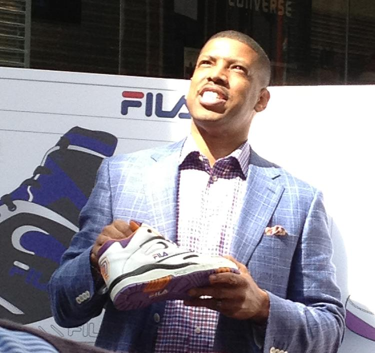Kevin Johnson with FILA KJ7 Retro