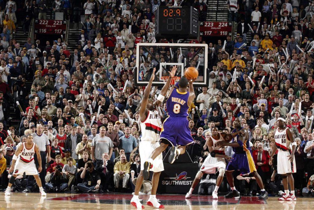 Kobe Bryant game-tying jumper in Zoom Huarache 2K4